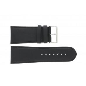 Correa de reloj 61215B.10.28 Cuero Negro 28mm + costura predeterminada
