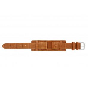 Correa de reloj 61325.75.18 Cuero Naranja 18mm + costura naranja