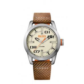 Correa de reloj Hugo Boss HB-291-1-14-2938 / 659302741 Cuero Marrón 22mm