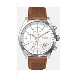 Correa de reloj Hugo Boss HB-297-1-14-2955 / 659302763 Cuero Cognac 22mm
