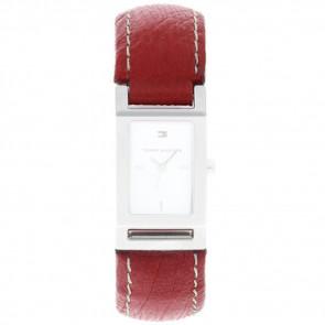 Correa de reloj Tommy Hilfiger 679300818-8471503 Cuero Rojo