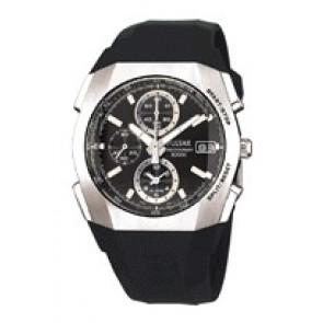 Correa de reloj Pulsar 7T62-X121 Plástico Negro