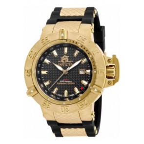 06011cf792db Correa de reloj Invicta 80423 (80423.01) Caucho Negro