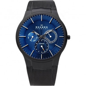 Correa de reloj Skagen 809XLTBN Acero Negro