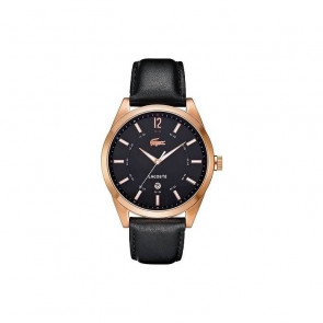 Correa de reloj Lacoste 2010582 / LC-52-1-34-2266 Cuero Negro 22mm