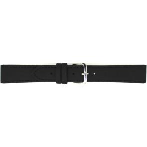 Correa de reloj 823.01.10 Cuero Negro 10mm + costura negro