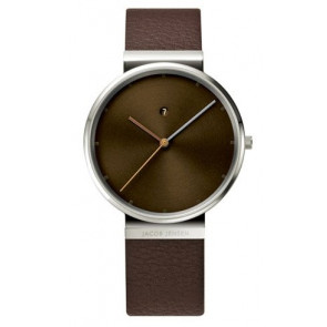 Correa de reloj 843 Cuero Marrón 19mm