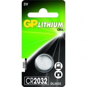 Pila de botón GP CR2032