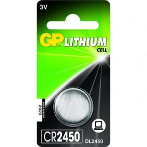 Pila de botón GP CR2450