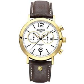 Correa de reloj Roamer 935951-48-24-09 Cuero Marrón