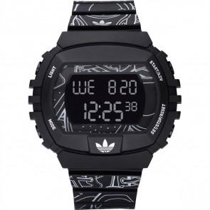 Correa de reloj Adidas ADH6096 Plástico Negro