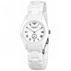 Correa de reloj Armani AR1405 Cerámica Blanco 18mm