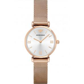 Correa de reloj Armani AR1956 Acero Rosa