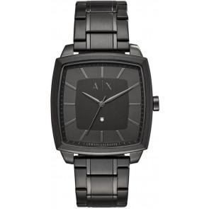 Correa de reloj Armani Exchange AX2361 Acero Negro 22mm
