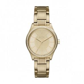 Correa de reloj Armani Exchange AX5441 Acero Chapado en oro 18mm