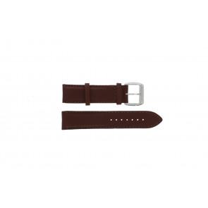 Correa de reloj Davis BB0231 Cuero Marrón oscuro 21mm