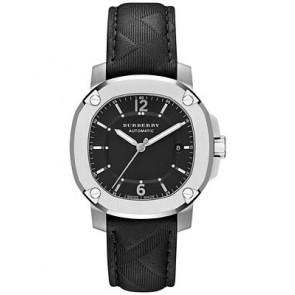 Correa de reloj Burberry BBY1209 Caucho Negro 20mm