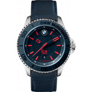 Correa de reloj Ice Watch BM.BRD.U.L.14 Cuero/Textil Azul 20mm