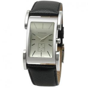 Correa de reloj Burberry BU1100 Cuero Negro
