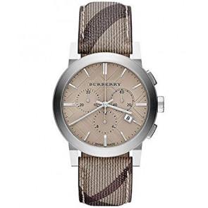 Correa de reloj Burberry BU9361 Cuero Marrón