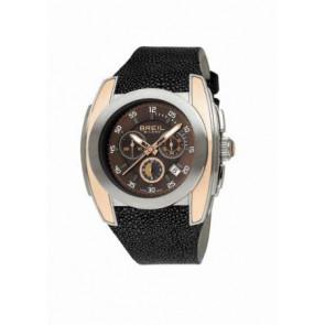 Correa de reloj Breil BW0380 Cuero Negro 28mm
