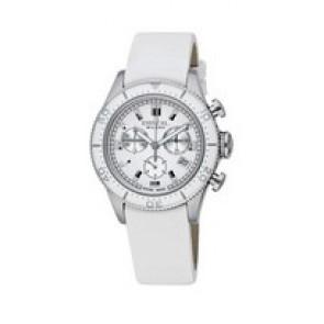 Correa de reloj Breil BW0502 Cuero Blanco 20mm
