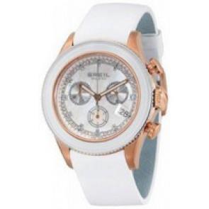 Correa de reloj Breil BW0516 Cuero Blanco