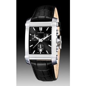Correa de reloj Candino C4284/H Cuero Negro 22mm