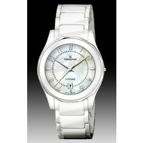 Correa de reloj Candino C4352-2 Cerámica Blanco