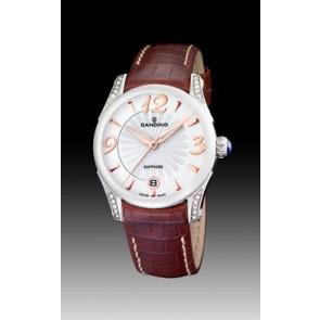 Correa de reloj Candino C4419-2 Cuero Marrón