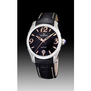 Correa de reloj Candino C4419-3 Cuero Negro