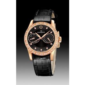 Correa de reloj Candino C4448-3 Cuero Negro 17mm