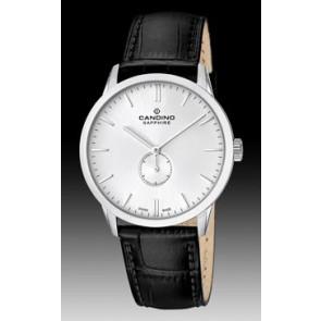 Correa de reloj Candino C4470.01 Cuero Negro 21mm