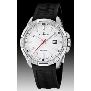 Correa de reloj Candino C4497-1 (BC07412) Caucho Negro