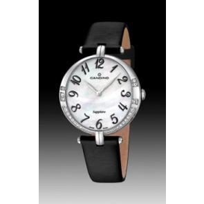 Correa de reloj Candino C4601-4 Cuero Negro