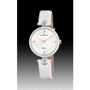 Correa de reloj Candino C4658-1 Cuero Blanco