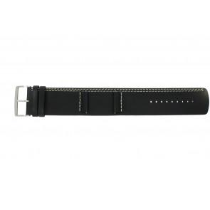 Correa de reloj Camel BC51022 Cuero Negro 26mm