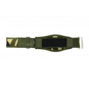 Correa de reloj Camel Active Velcro Verde 26mm