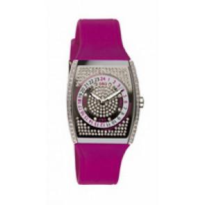 Correa de reloj Dolce & Gabbana DW0071 Silicona Rojo