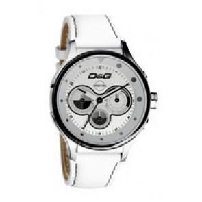 Correa de reloj Dolce & Gabbana DW0212 (F357000728) Cuero Blanco