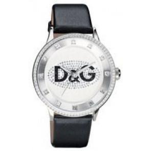 Correa de reloj Dolce & Gabbana DW0507 Cuero Negro