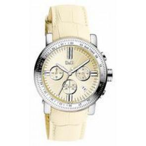 Correa de reloj Dolce & Gabbana DW0678 Cuero Beige 22mm