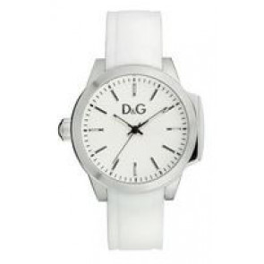 Correa de reloj Dolce & Gabbana DW0746 Caucho Blanco 18mm