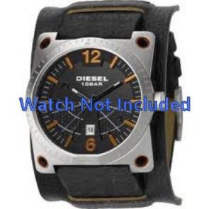 446a92919f82 Correa de reloj Diesel DZ1212 Cuero Negro 28mm