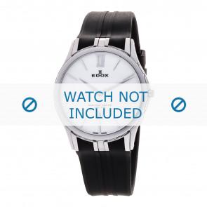 Edox correa de reloj 27033-3-BIN Silicona Negro