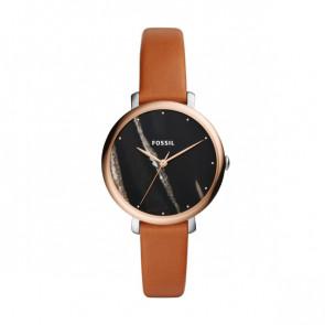 Correa de reloj Fossil ES4378 Cuero Cognac 14mm