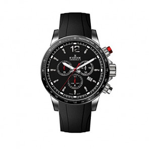 Correa de reloj Edox 10229-3CA-NIN Caucho Negro