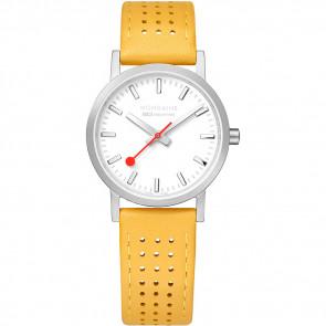 Correa de reloj Mondaine A658.30323.16SBD / FE3116.50Q.2 Cuero Amarillo 16mm