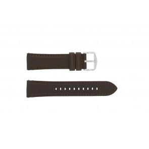 Correa de reloj Fossil FS4735 / FS4813 Cuero Marrón 22mm