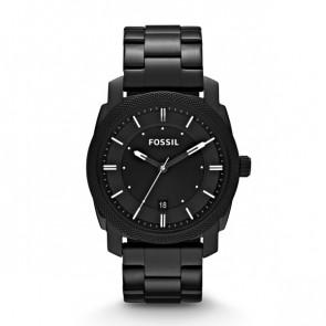 Fossil correa de reloj FS4775 Metal Negro 22mm